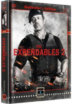 Expendables 2, The - Back for War - Uncut Mediabook Edition  (DVD+blu-ray) (Cover B - Retro)