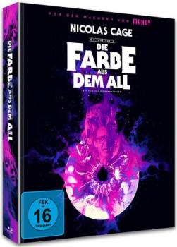 Farbe aus dem All, Die - Color Out of Space - Uncut Mediabook Edition  (blu-ray+4K Ultra HD) (A)