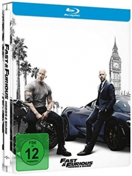 Fast & Furious: Hobbs & Shaw - Limited Steelbook Edition  (blu-ray)