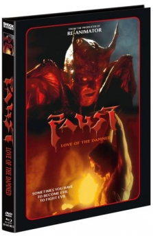 Faust - Love of the Damned - Uncut Mediabook Edition  (DVD+blu-ray) (D)