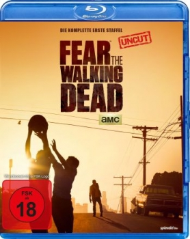 Fear the Walking Dead - Die komplette erste Staffel - Uncut  (blu-ray)