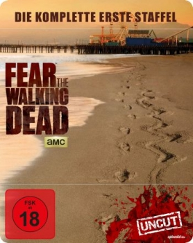 Fear the Walking Dead - Die komplette erste Staffel - Uncut Steelbook  (blu-ray)