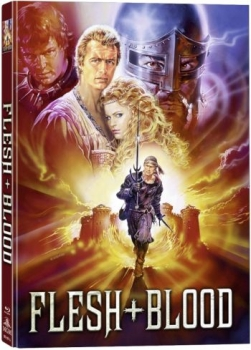 Flesh + Blood - Fleisch und Blut - Uncut Mediabook Edition (blu-ray) (A)