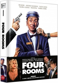 Four Rooms - Uncut Mediabook Edition  (DVD+blu-ray)