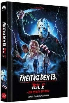 Freitag der 13. - Teil 5 - Ein neuer Anfang - Uncut Mediabook Edition (blu-ray) (D)