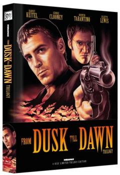 From Dusk Till Dawn Trilogy - Uncut Mediabook Edition  (blu-ray) (A)