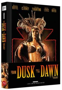 From Dusk Till Dawn Trilogy - Uncut Mediabook Edition  (blu-ray) (B)