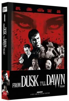 From Dusk Till Dawn Trilogy - Uncut Mediabook Edition  (blu-ray) (C)