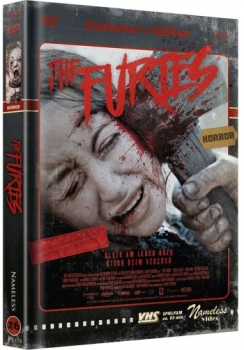 Furies, The - Uncut Mediabook Edition  (DVD+blu-ray) (Cover D - Retro)