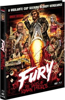 Fury - The Tales of Ronan Pierce - Uncut Mediabook Edition  (DVD+blu-ray)