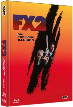 F/X 2: Die tödliche Illusion - Limited Mediabook Edition  (DVD+blu-ray) (B)
