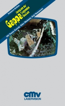 Gappa - Frankensteins fliegende Monster - VHS Desgin Edition