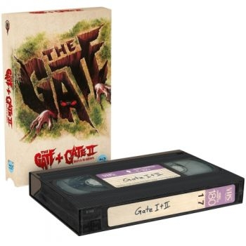 Gate, The - Teil 1+2 - Uncut VHS Design Edition  (blu-ray) (A)