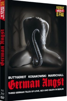 German Angst - Uncut Mediabook Edition  (DVD+blu-ray)