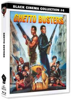 Ghetto Busters - Black Cinema Collection 4  (DVD+blu-ray)