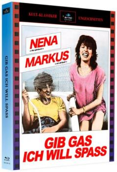 Gib Gas, ich will Spaß - Limited Mediabook Edition  (blu-ray) (A)