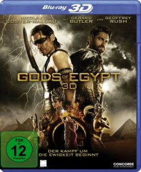Gods of Egypt 3D  (3D blu-ray)