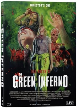 Green Inferno, The - Uncut Directors Cut Mediabook Edition  (DVD+blu-ray) (A)