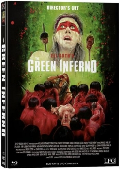 Green Inferno, The - Uncut Directors Cut Mediabook Edition  (DVD+blu-ray) (B)
