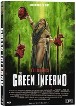Green Inferno, The - Uncut Directors Cut Mediabook Edition  (DVD+blu-ray) (C)