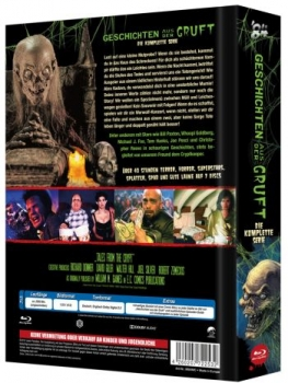 Geschichten aus der Gruft - Tales from the Crypt - Uncut Mediabook Edition (blu-ray) (A)
