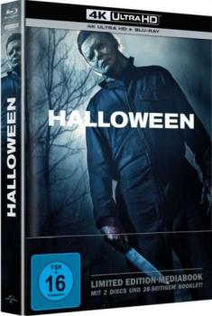 Halloween (2018) - Uncut Mediabook Edition  (4K Ultra HD+blu-ray)
