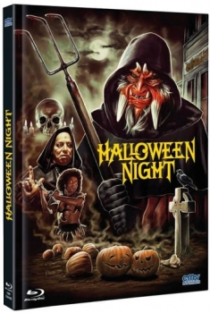 Halloween Night - Uncut Mediabook Edition  (DVD+blu-ray) (B)
