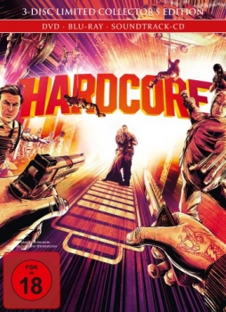 Hardcore - Limited Mediabook Edition  (DVD+blu-ray)