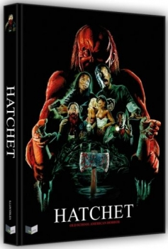 Hatchet - Uncut Mediabook Edition  (DVD+blu-ray) (A)