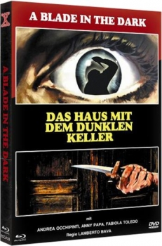 Haus mit dem dunklen Keller - A Blade in the Dark - Eurocult Mediabook Collection (DVD+blu-ray) (C)