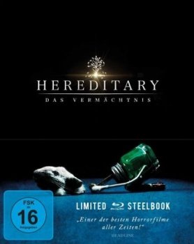 Hereditary - Das Vermächtnis - Limited Steelbook Edition  (blu-ray)