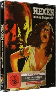 Hexen bis aufs Blut gequält - Mark of the Devil - Uncut Mediabook Edition  (DVD+blu-ray) (A)