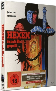 Hexen bis aufs Blut gequält - Mark of the Devil - Uncut Mediabook Edition  (DVD+blu-ray) (B)