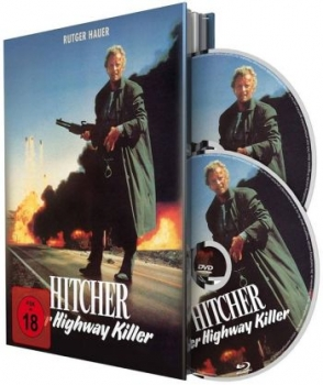 Hitcher - Der Highway Killer - Uncut Mediabook Edition  (DVD+blu-ray)