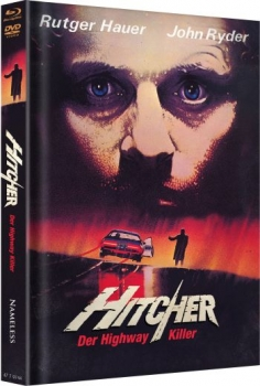 Hitcher - Der Highway Killer - Uncut Mediabook Edition  (DVD+blu-ray) (A)