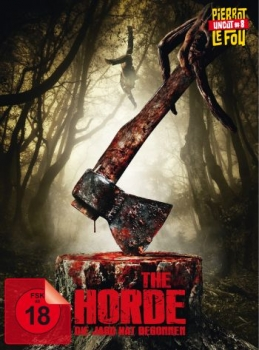 Horde, The - Die Jagd hat begonnen - Uncut Mediabook Eidtion  (DVD+blu-ray)