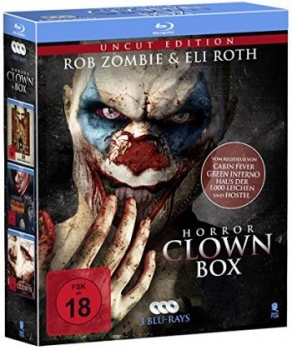Horror Clown Box (blu-ray)