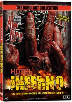 Hotel Inferno - Hard Art Collection - Uncut - Mediabook  (DVD+blu-ray)
