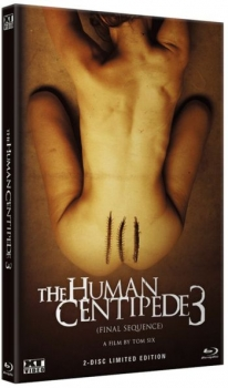 Human Centipede 3, The - Final Sequence  - Uncut Hartbox Edition  (DVD+blu-ray) (A)