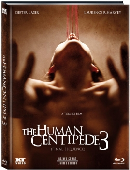 Human Centipede 3, The - Final Sequence - Uncut Mediabook Edition  (DVD+blu-ray) (C)