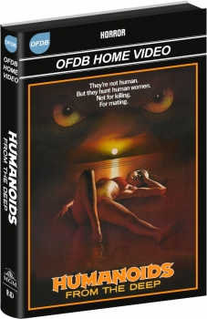 Humanoids from the Deep - Uncut Hartbox Edition  (DVD+blu-ray)