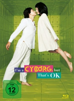 I'm a Cyborg, But That's OK - Limited Mediabook Edition  (DVD+blu-ray)