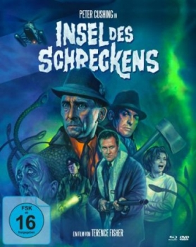 Insel des Schreckens - Limited Mediabook Edition  (DVD+blu-ray) (A)