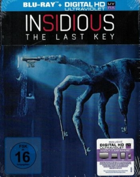 Insidious: The Last Key - Limited Steelbook Edition  (blu-ray)