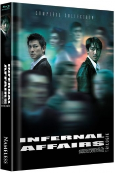 Infernal Affairs Trilogy - Uncut Mediabook Edition  (blu-ray)