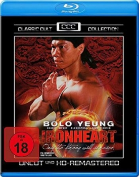 Ironheart - Classic Cult Collection  (blu-ray)
