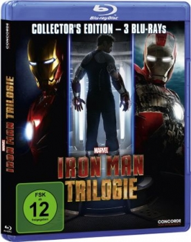 Iron Man Trilogie  (blu-ray)