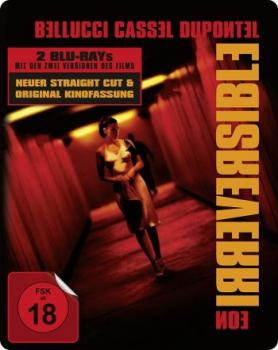 Irreversible - Kinofassung & Straight Cut - Limited Steelbook Edition  (blu-ray)