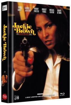 Jackie Brown - Uncut Mediabook Edition  (DVD+blu-ray) (B)