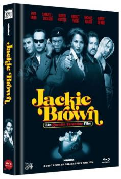Jackie Brown - Uncut Mediabook Edition  (DVD+blu-ray) (C)